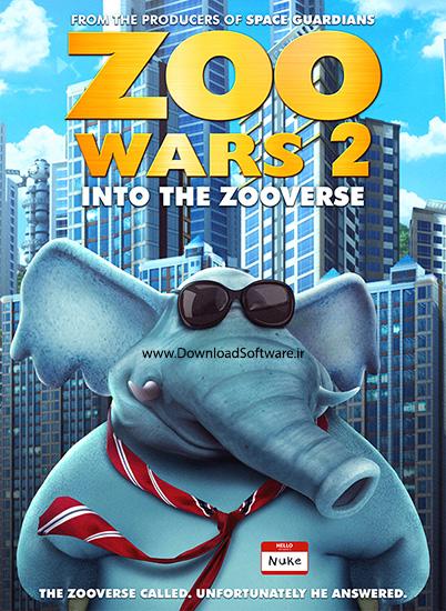دانلود انیمیشن جنگ های باغ وحش ۲ کارتون Zoo Wars 2 2019
