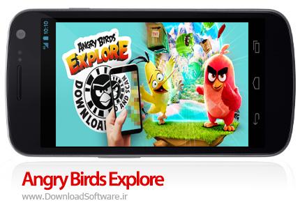 دانلود بازی Angry Birds Explore بازی اکتشاف پرندگان عصبانی اندروید