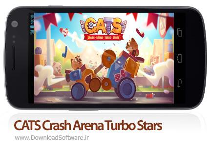 دانلود بازی CATS Crash Arena Turbo Stars بازی نبرد ربات ها برای اندروید