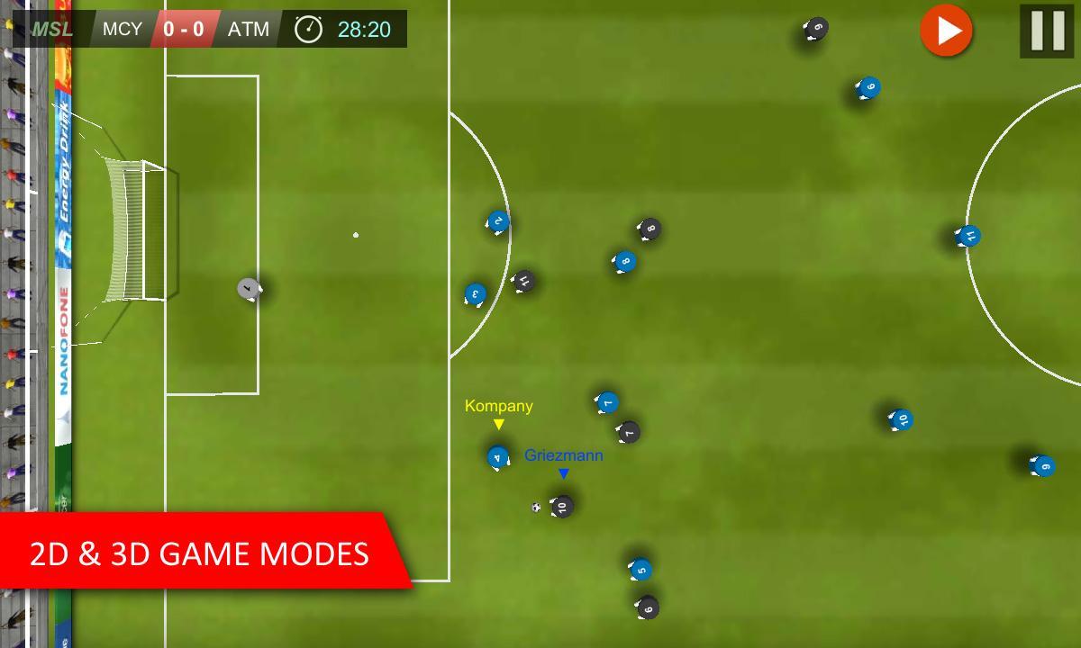 دانلود بازی اندروید Mobile Soccer League