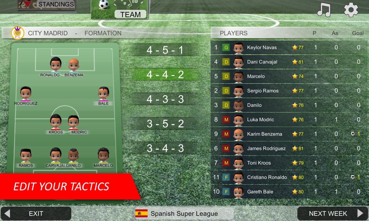 بازی Mobile Soccer League برای موبایل