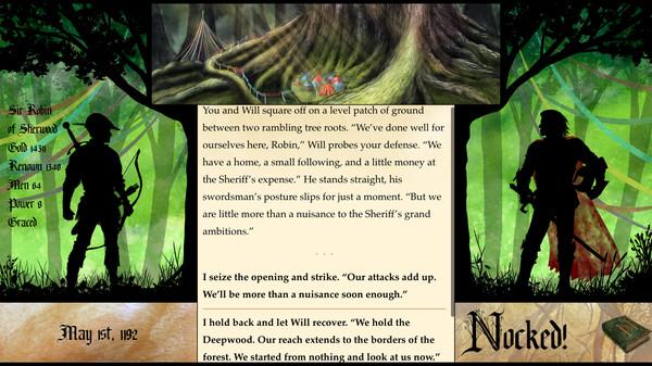 بازی جدید Nocked True Tales Of Robin Hood