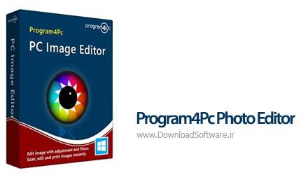 دانلود نرم افزار Program4Pc Photo Editor برنامه ویرایش عکس برای کامپیوتر