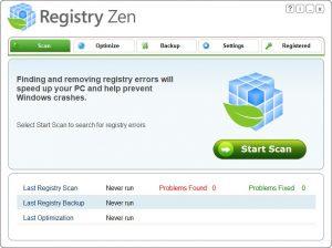 دانلود Registry Zen نرم افزار بهینه سازی رجیستری