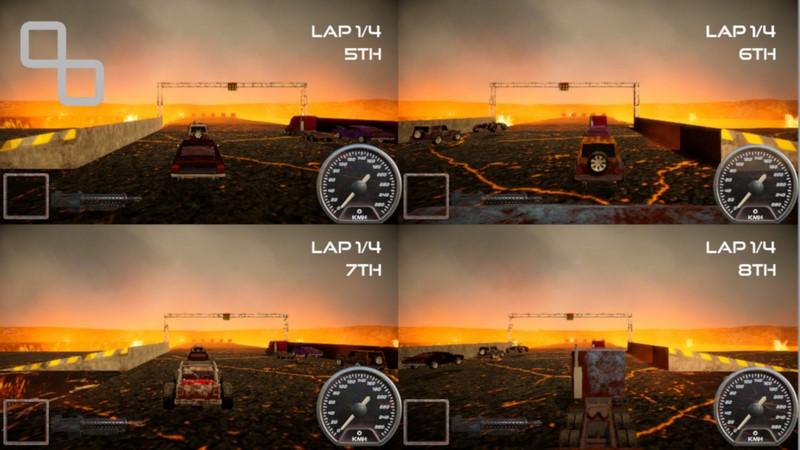 بازی رایگان Rock n Rush Battle Racing