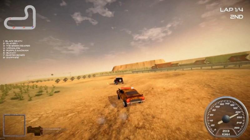 تصاویر بازی Rock n Rush Battle Racing