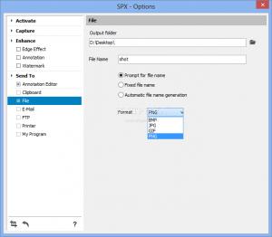 دانلود برنامه SPX Instant Screen Capture نرم افزار عکسبرداری از صفحه دسکتاپ