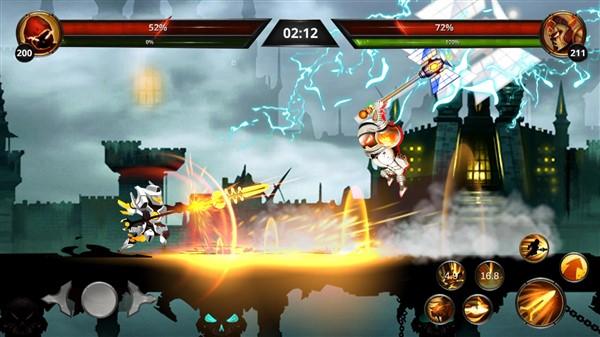 بازی Stickman Legends برای گوشی موبایل