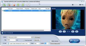 دانلود ThunderSoft GIF to AVI Converter نرم افزار تبدیل فایل GIF به AVI