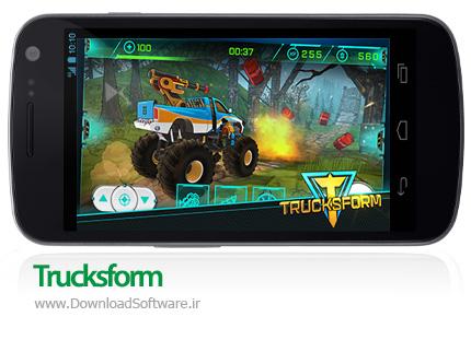 دانلود بازی Trucksform بازی مسابقات خودروهای بزرگ برای اندروید