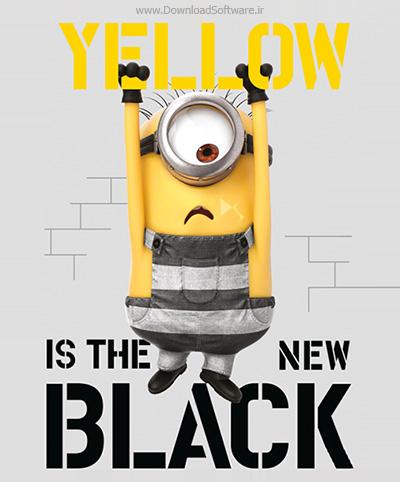 دانلود رایگان انیمیشن کوتاه زرد سیاه جدیده Yellow is the New Black 2018 BluRay
