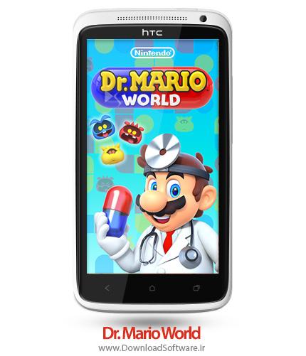 دانلود بازی Dr. Mario World بازی چالش جذاب دکتر ماریو اندروید