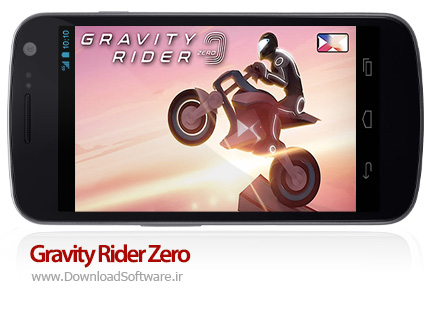 دانلود بازی Gravity Rider Zero بازی موتورسواری در گرانش صفر برای اندروید