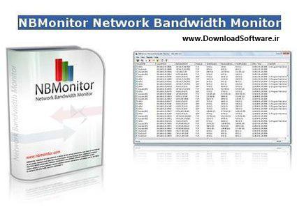 دانلود برنامه Nsasoft NBMonitor Network Bandwidth Monitor نرم افزار مدیریت پهنای باند شبکه