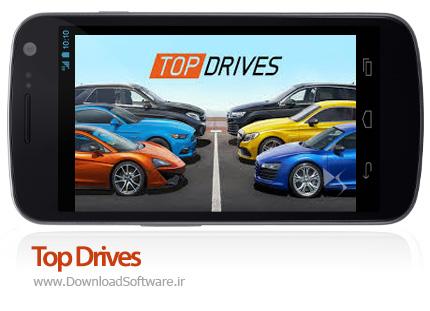 دانلود بازی اندروید Top Drives دانلود بازی بهترین راننده ها برای اندروید