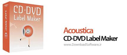 دانلود Acoustica CD-DVD Label Maker نرم افزار طراحی لیبل و کاور سی دی و دی وی دی