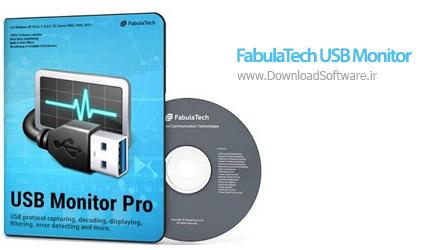 دانلود FabulaTech USB Monitor Pro نرم افزار کنترل و نظارت بر پورت USB