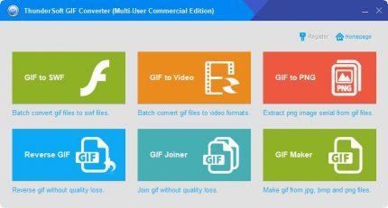 دانلود ThunderSoft GIF Converter نرم افزار تبدیل فایل های Gif برای کامپیوتر