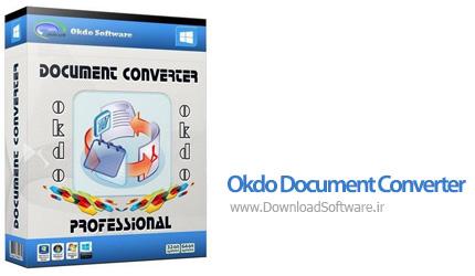 دانلود Okdo Document Converter Professional نرم افزار مبدل اسناد مختلف برای ویندوز