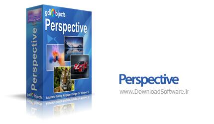 دانلود Perspective نرم افزار تغییر پس زمینه عکس ویندوز