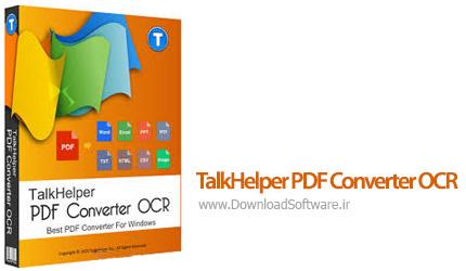 دانلود TalkHelper PDF Converter OCR نرم افزار تبدیل فایل های پی دی اف