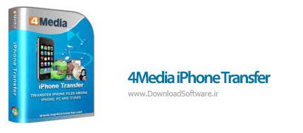 دانلود 4Media iPhone Transfer نرم افزار انتقال فایل آیفون به کامپیوتر