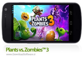 دانلود Plants vs. Zombies™ 3 بازی زامبی ها و گیاهان 3 اندروید