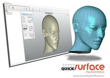 دانلود Quick Surface نرم افزار مهندسی معکوس مدل های سه بعدی