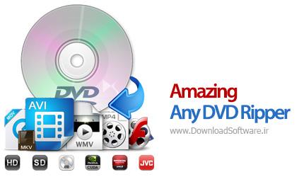 دانلود Amazing Any DVD Ripper نرم افزار ریپ فایل های دی وی دی