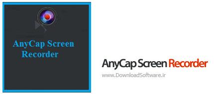 دانلود AnyCap Screen Recorder نرم افزار ضبط تماس های ویدیویی آنلاین