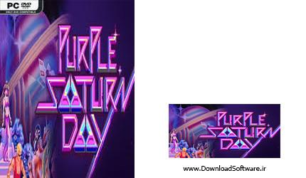 دانلود بازی Purple Saturn Day برای پلتفرم کامپیوتر