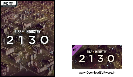 دانلود بازی Rise of Industry 2130 Anniversary برای PC
