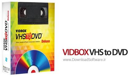 دانلود VIDBOX VHS to DVD Deluxe نرم افزار تبدیل فیلم های ویدیویی VHS به دیسک های DVD