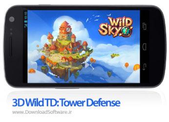 دانلود 3D Wild TD: Tower Defense - بازی موبایل قلمرو آسمانی اندروید