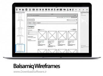 دانلود Balsamiq Wireframes نرم افزار طراحی گرافیک UI