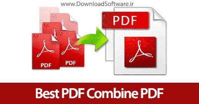 دانلود Best PDF Combine PDF نرم افزار ادغام فایلهای پی دی اف