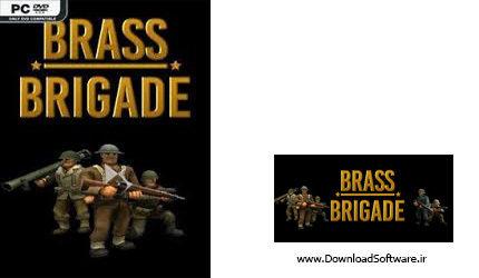 دانلود Brass Brigade: Battle of Arnhem - بازی تیپ نظامی: جنگ آرنهم برای کامپیوتر