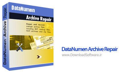 دانلود DataNumen Archive Repair بهترین برنامه بازیابی و ترمیم بایگانی فایل های فشرده
