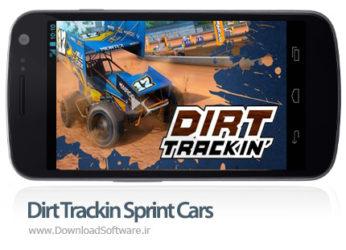 دانلود Dirt Trackin Sprint Cars - بازی موبایل مسابقات اتومبیل رانی اندروید