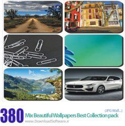 دانلود بهترین سری تصاویر والپیپر زیبا و جذاب پک 380