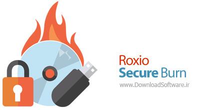 دانلود Roxio Secure Burn - نرم افزار حفظ امنیت رایت سی دی و دی وی دی و USB