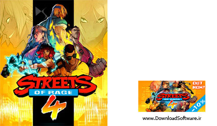دانلود Streets of Rage 4 بازی شورش در شهر 4 برای کامپیوتر