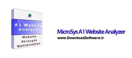 دانلود MicroSys A1 Website Analyzer نرم افزار تحلیل وب سایت