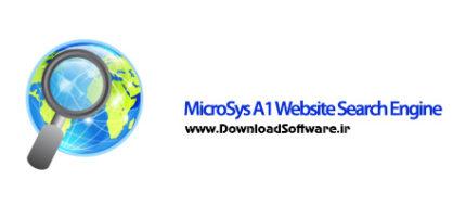دانلود MicroSys A1 Website Search Engine بهینه سازی سایت برای موتور جستجوگر