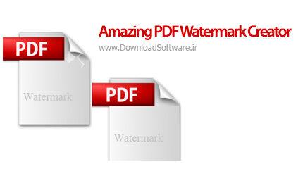 دانلود Amazing PDF Watermark Creator نرم افزار حفاظت از فایل های پی دی اف