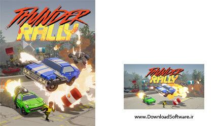دانلود بازی رالی دو نفره Thunder Rally برای کامپیوتر
