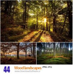 دانلود 44 تصاویر لنداسکیپ با موضوع چوب