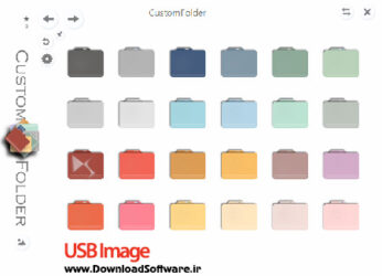 دانلود CustomFolder x64 نرم افزار تغییر رنگ پوشه ها در ویندوز