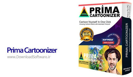 دانلود Prima Cartoonizer نرم افزار تبدیل تصاویر به جلوه های کارتونی