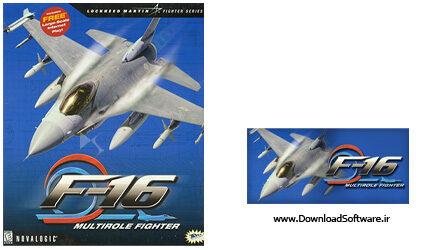 دانلود F16 Multirole Fighter بازی جت جنگی برای کامپیوتر با لینک مستقیم